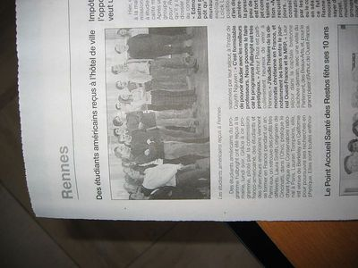 Fulbright Ouest-France coverage