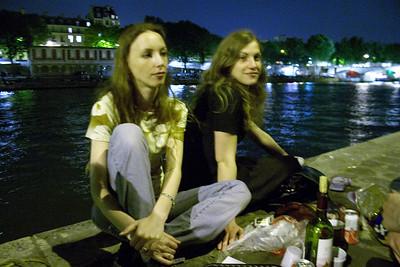 Ingrid and Raluca