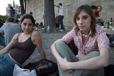 Alexianne and Sandra