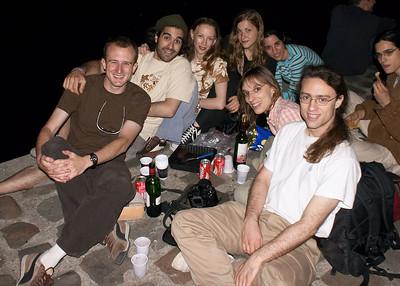 Group on quai, last weekend