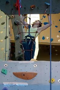Sarah climbing ladder 2