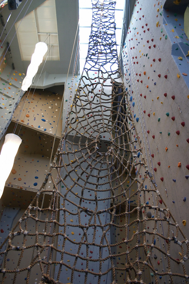Graduate School Visit Trip - Rock Climbing