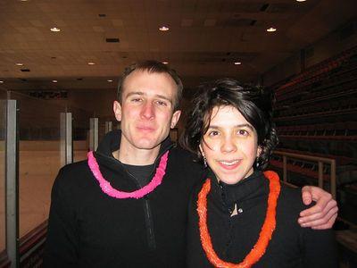 Sarah me MIT ice skating