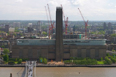 Tate Modern from St  Pauls