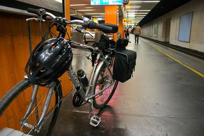 Bike, Gare de Lyon RER D