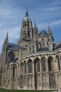 Bayeux cathedral exterior 1