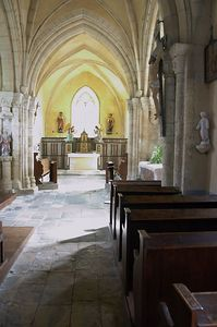Hospital church interior 2