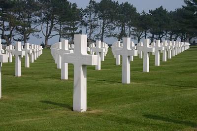 American cemetery crosses - Rapoza