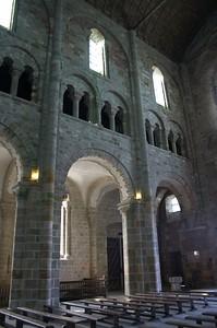 Mont St Michel chapel corner