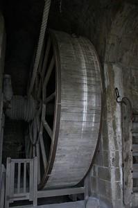 Mont St Michel cargo wheel