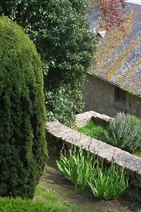 Mont St Michel gardens
