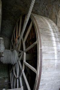 Mont St Michel cargo wheel 2