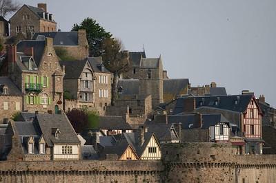 Mont St Michel detail