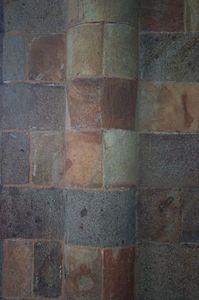 Mont St Michel chapel wall