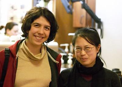 Sarah and Yi
