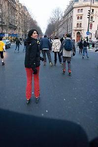 Sarah skating