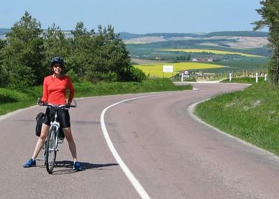 Sarah, hillside road