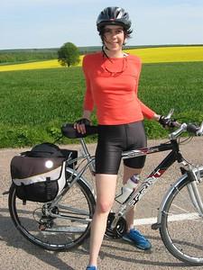 Sarah and bike 2