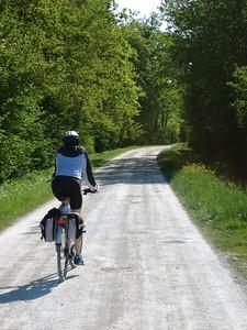Sarah biking