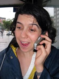 Sarah cell phone