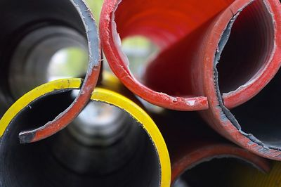 Colored pipes