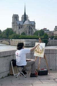 Artist and Notre Dame