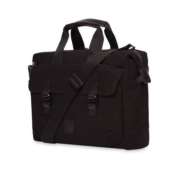 Fulham; Tournay; Topload Briefcase; 15'';159-202-BKW