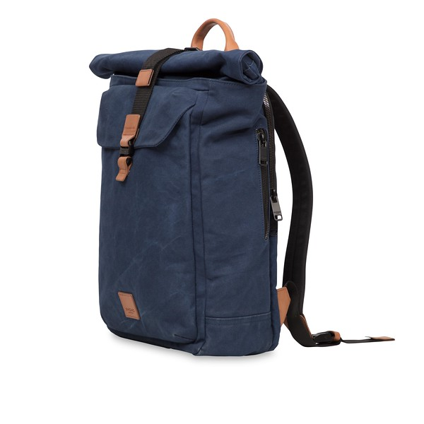 Fulham; Novello; Rolltop Backpack; 15''; 159-402-NKW; Three Quarter