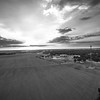 Leland Fields Sunsets (BW)