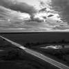 Highway 49 Skyline (BW)