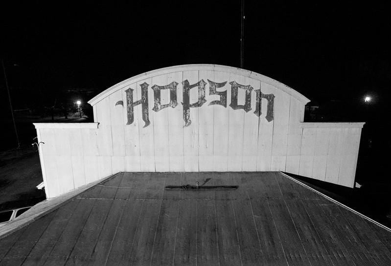 Glowing Hopson (BW)