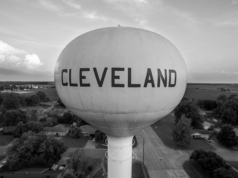 Cleveland Close-Up (BW)
