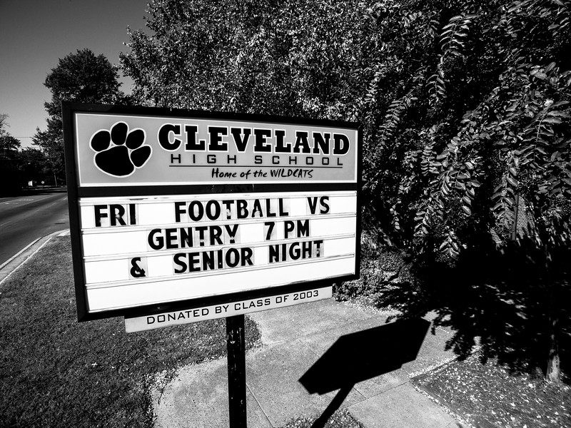 CHS Football & Senior Night (BW)