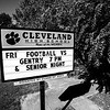 CHS Football & Senior Night (BW)