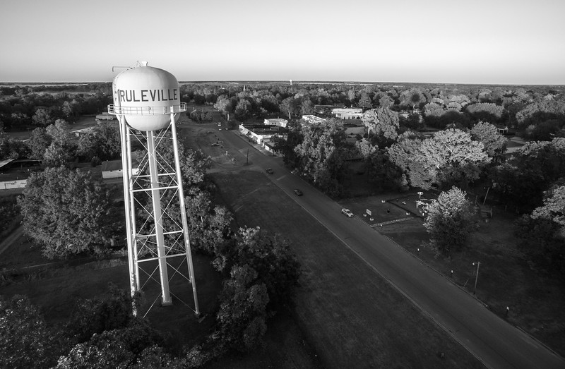 Ruleville Water Tower (BW)