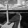 Cross over Highway 82 (BW)