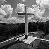 Cross in the Clouds (BW)