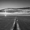 Symonds Field Skyline (BW)