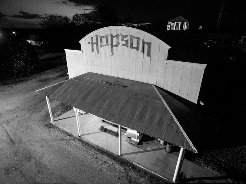 Hopson Close-Up (BW)