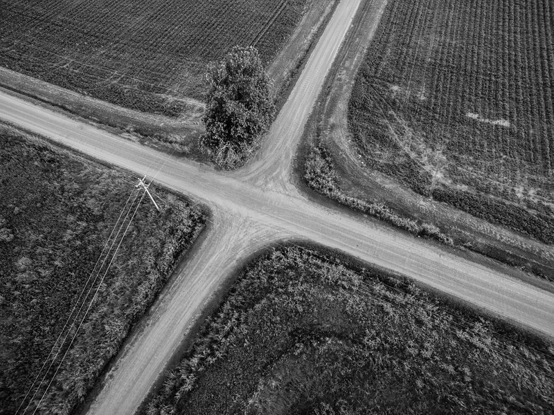 Standin' at the Crossroads (BW)