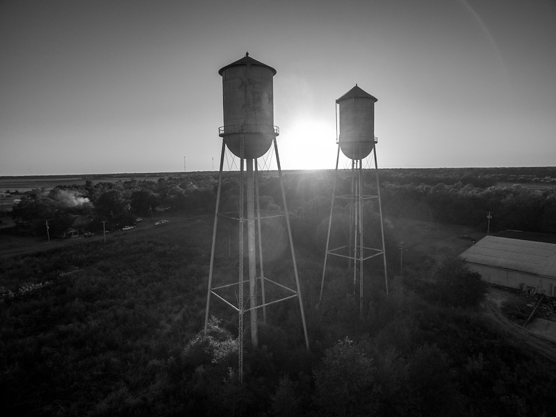 Shadow Towers (BW)