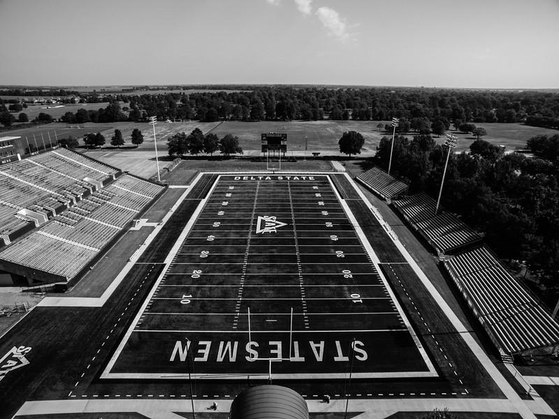 Travis Parker Field, Statesmen Park (BW)