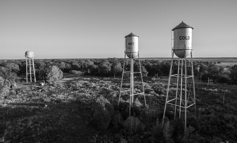 Triple Towers (BW)