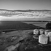 Six Bin Sunset (BW)