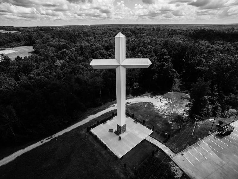 Cross over the Winona Woods (BW)