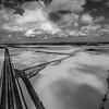 Highway 61 in a Delta Flood 2016 (BW)