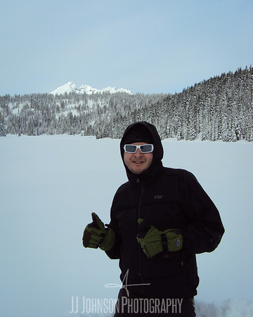 Nick at Todd Lake