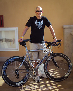 Posing with the Litespeed