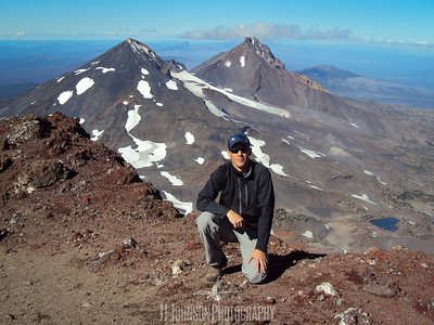 JJ on the South Sister