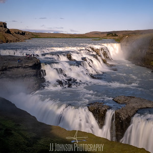 Gullfoss Sunset
